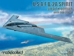Modelcollect 1/72 Scale Model Usaf B-2a Spirit Stealth Bomber With Mop Gbu-57