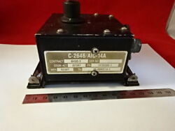 Avionics C-2646/aic-14a 117d200-1 Vintage Aircraft Module As Is And99-64