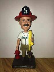 Seattle Mariners 2011 Firefighter Special Event Bobblehead Bobble Rare Nib 7/17