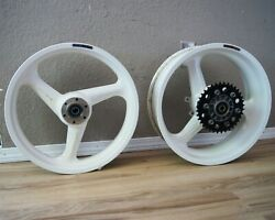Marchesini Magnesium Wheels Front 17x3.5 And Rear 17x5.5 Ducati 888 851 900ss 916
