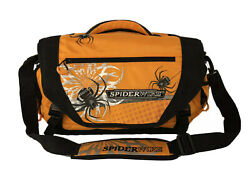 Large Autumn Pumpkin Spiderwire Fishing Tackle Bag