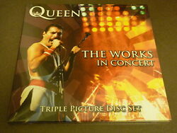 Queen The Works In Concert Triple Picture Disc Vinyl Set Numbered New/sealed