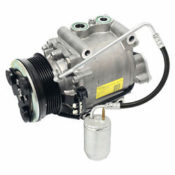 Oem Ac Compressor W/ A/c Drier For Ford Five Hundred And Mercury Montego 1995