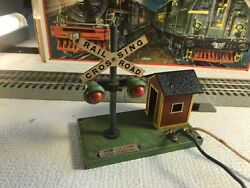 🚅 O Scale American Flyer Bell Danger Signal 759 - Nice 💥 Y211