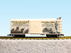 Usa Trains G Scale R19122-3-4 World War 1 Series 3 Pack Boxcars