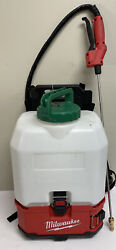 Pre Owned - Milwaukee 2820-20ps M18 4gal Switch Tank Backpack Spayer - Tool Only
