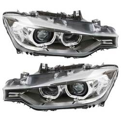 Pair Hella Left And Right Headlight Set For Bmw 320i 328i 335i 328d And Xdrive