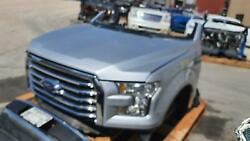 2015-2017 Ford F150 Front End Assy Halogen Headlamps Chrome Bumper