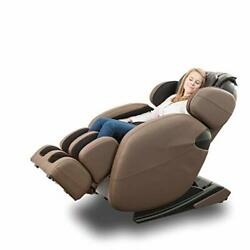 Zero Gravity Full-body Recliner Lm6800 With Yoga And Heating Therapy Brown