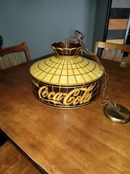 Sr Products Inc. Ft. Collins Co Drink Coca-cola Hanging Style Light