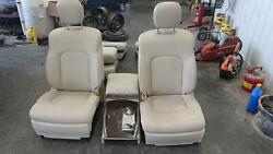 2015-2017 Infiniti Qx80 Front Seat Bucket, W/bag, Leather, Electric,