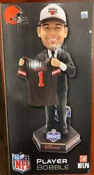 Baker Mayfield Cleveland Brownsandnbsp 2018 Draft Day Bobblehead Nfl - Limited Edition
