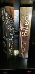Lord Of The Rings Gandalf And Bilbo Pipe Replica Set Real Working Pipes Licensed