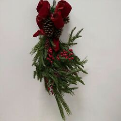 Balsam Hill -pine Peak Holiday Swag - No Lights Or Decor New In Open Box