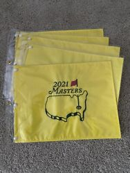 New 2021 Masters Tournament Golf Pin Flag Augusta National Lot Of 10 Ten