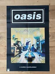 Oasis / Blur 1990s Uk Select Magazine Double Sided 36andrdquo X 24andrdquo Large Colour Poster