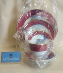 Wedgwood Crown Ruby Dinner Salad Bread And Butter Salad Cup Or Saucer