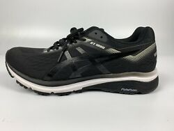 New Asics Gt-1000 7 Menand039s Running Shoes Black / White Size 9 M No Box