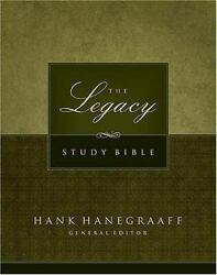 Legacy Study Bible New King James Version, Black Bonded Leather Hanegraaff, H..