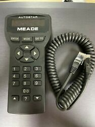 1pc Used Meade 497 Audiostar Talking Computer Hand Control We7 Wx Yh