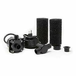 Beckett Corporation 900 Gph Submersible Pond And Waterfall Pump With Filters ...