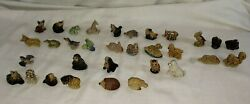 Wade Red Rose Tea Canadian Animal Figures Lot All 32 Figures Shown Incomplete