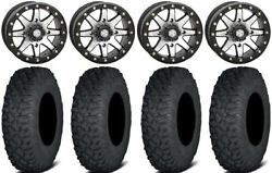 Sti Hd9 15 Bdlk Wheels Mh 6+1 33 Coyote Tires Can-am Defender