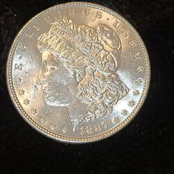 1887- Morgan Silver Dollar Great Shape Purchased Straight From Coin Show A Must