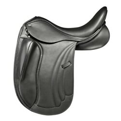 Pds Carl Hester Delicato Ii Saddle With 9 Inch Blocks - Medium Wide 17 And 17.5