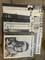 American Indian Crafts And Culture Magazines 20 Various Volumes Dating Andlsquo72-andlsquo74