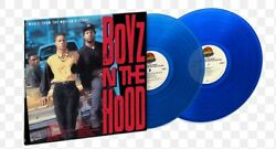 Boyz N The Hood Soundtrack Exclusive Limited Blue Colored Vinyl Lp Sold Out