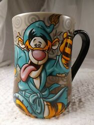 Tigger Coffee Mug Cup Winnie The Pooh Disney Parks Wired For Another Day 18 Oz
