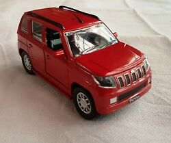 Mahindra Tuv 300 / Diecast 132 Scale Model / Red Color