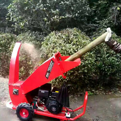 Small Movable Orchard Branch Crusher Wood Crusher Urban Greening Branch Crusher