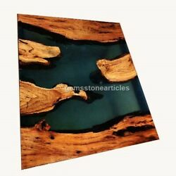 Custom Epoxy Coffee | Dining Table Top | River Table Epoxy | Dining Table Decor