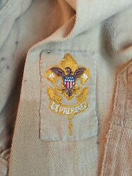Boy Scouts Of America Leadership Uniform 1925 First Class Patch Louisville Ky@