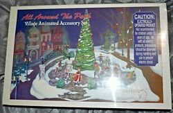 Dept 56 Snow Village All Around The Park Village Animated Accessory 52477 Sealed