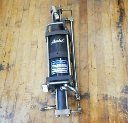 Haskel 28881 Agt 62-152 Gas Booster Two Stage Air Driven Non Lubricated 9000psig