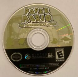Paper Mario The Thousand-year Door Nintendo Gamecube 2004 Disc Only - Tested