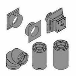 Empire Comfort Systems Dvvk4tp Horizontal Top Vent Kit For Tahoe Fireplaces,