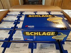 Schlage Plymouth Bright Chrome Bed/bath Door Knob F40 V Ply 625 New 20 Sets.