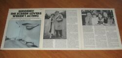 Out Of This World Elizabeth Taylor And Richard Burton 3 Pages Photos + Article 2