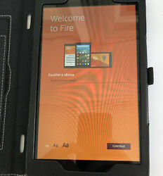 Kindle Fire Hd 8 7th Generation 16gb - Wireless Blue Tooth Charger Case
