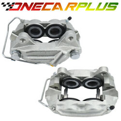 Onecarplus Front Set 2 Disc Brake Calipers For 1965-1967 Ford Lincoln Mercury