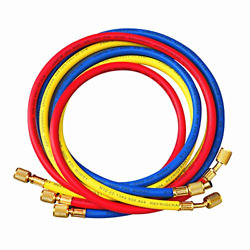 Antfees 72 Ac Charging Hoses Tube For R134a Air Conditioning Refrigerant 1/4