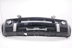 07-11 Mercedes W164 Ml63 Amg Sport Front Bumper Cover Assembly Black Oem