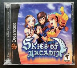 Skies Of Arcadia Dreamcast Complete Cib Tested Excellent Condition