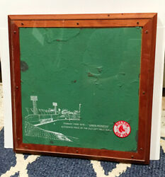 Red Sox 1976 Jimmy Fund Green Monster Fenway Wall-rare Large Piece--up 1947-1975