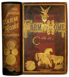 Antique Farm Guide Cookbook Medicine House Barn Architecture Bees Horse Tools