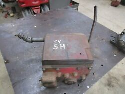 1954 Farmall Super H Hydraulic Reservoir Tank And Valve Z Casting Antique Tractor